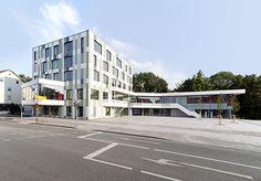 Kolbermoor, Germany City Hall, Behnisch Architekten (2012)