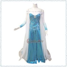 Online Shop New Arrival Cheap Custom Made Frozen Elsa Princess Dress Cosutme Movie Cosplay Costume Any Size|Aliexpress Mobile