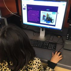 Students write daily using Google Slides. We call it their iSTEAM Lab blog in which they reflect upon and summarize their learning. #isteamlab #bingwongelementary #writing #integratedlearning #steamcommoncore #isteamblog
