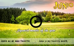 Spanish months of the year: Spanish video list, listening and practice 1. Spanish video and conversation excerpts 2. Main Spanish Listening: What's your favorite Spanish month?– ¿Cuál es tu mes favorito? 3. Spanish practice: Talking about months of the year in Spanish