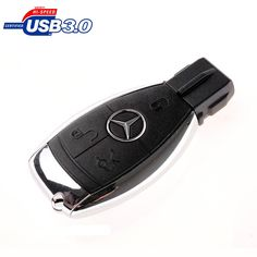 3.0 Mercedes-Benz car key USB flash drive, 8G.16G.32G.64G.128G pen drive, USB creative gifts, exquisite memory stick, USB 3.0