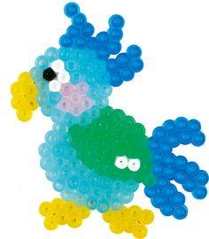 Parrot Hama beads - 4008 - HAMA