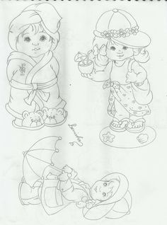 Drawing Now, Line Drawing, Drawing Sketches, Drawings, Kids Patterns, Doll Patterns, Adult Coloring, Coloring Pages, Fabric Paint Designs