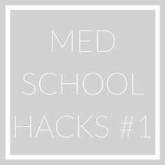 Medical school is hard but today I am sharing the top medical school study tips that helped me secure good grades in my classes.