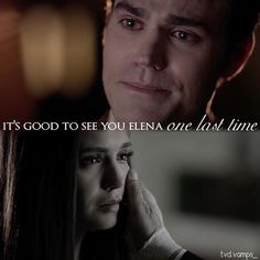 TVD S08E16 (finale). Ugh just like the rest of this episode, right in the feels lol.
