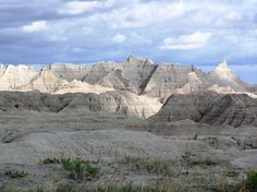 The Badlands National Park is located in South Dakota and it helps with preserving around 244,000 acres. Description from itsnature.org. I searched for this on bing.com/images