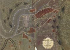 Map Of Chattanooga Tennessee and its Vicinity, Showing The Fortificati Poster on Vintage Visualizations