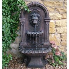 water fountains outdoor | REQUIREMENTS FOR AN OUTDOOR WALL FOUNTAIN