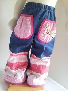 skønne farverige bukser