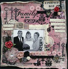 "Unity Stamp Co. Design Team Member - @Renee Aslette - Using the ""Key to Joy"" Kit  http://www.unitystampco.com"