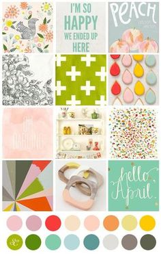 April Mood Board : Gallery : A Cherry On Top