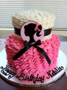Barbie by colorful-cakes on Cake Central