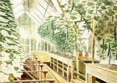 Cucumber House Eric Ravilious
