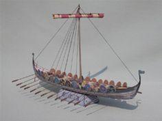 Wikinger Langschiff
