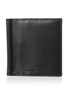 41% OFF Emporio Armani Men's Clip Bi-Fold Wallet (Black)