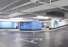 The BOW Tower parking in Calgary, HQ of Encana Corp. #wayfinding #signage #parking