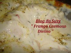 Frango Cremoso Divino (prático fácil)