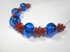 >>Lampwork necklace of late summer - by Petra Hamplova<< Enjoy Uniqueness & Quality of Czech Design http://en.bohemia-design-market.com/designer/petra-hamplova