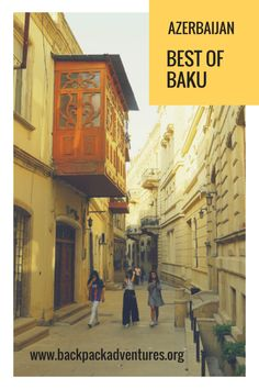 Backpacking Azerbaijan: The travel guide to the best things to do in Baku for the independent budget traveller and the solo female traveller Backpacking South America, Backpacking Europe, Europe Travel Tips, Asia Travel, Travel Guides, Travel Destinations, Travel Hacks, European Travel, Holiday Destinations