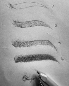 Source by Eyebrows Shadow Drawing, Pencil Sketch Drawing, Makeup Drawing, Eye Sketch, Pencil Drawing Tutorials, Sketches Tutorial, Pencil Art Drawings, Art Drawings Sketches, Drawing Step