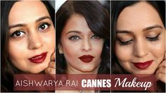 Check out the complete tutorial for this Aishwarya Rai Cannes inspired makeup. Full tutorial is here. Watch and subscribe to our Youtube