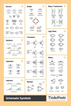 Outstanding 36 Awesome Electronics Reference Posters Images Electric Arduino Wiring Cloud Hisonuggs Outletorg