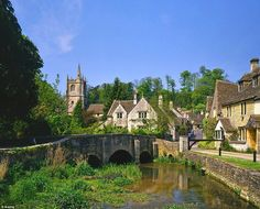 Castle Combe has been called the prettiest village in England, so it's perhaps surprising that many of us will have only seen it on screen — as the fictional Puddleby-on-the Marsh in Dr Doolittle, the Sixties film with Rex Harrison, and the backdrop to Steven Spielberg's War Horse