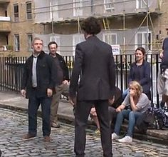 Sherlock   2.01 - A Scandal In Belgravia -- Behind the Scenes