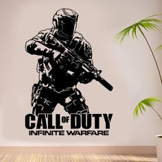Call Of Duty Wall Decal