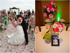 Gerbera Daisy Themed Wedding in Naples Florida