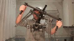 The Most Amazing Steady Camera - I wonder if he built it.  I know it's possible to do....