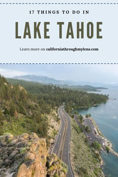 Lake Tahoe is one of my favorite areas in all of California. It is such a beautiful place in both the winter and the summer but I prefer the summer since you can be out on the lake or hiking in the mountains. Lake Tahoe Summer, Lake Tahoe Vacation, South Lake Tahoe, Lake Tahoe Hiking, Lac Tahoe, Places To Travel, Places To Visit, California Travel, Southern California