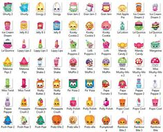 Shopkins List, Shopkins Names, Shopkins Figures, Shopkin Coloring Pages, Colouring Pages, Activities For Kids, Crafts For Kids, Bored Kids, Skin Images