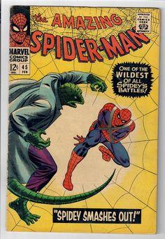 AMAZING SPIDER-MAN #45 – Grade 5.0 – Battles the Lizard!  http://www.ebay.com/itm/AMAZING-SPIDER-MAN-45-Grade-5-0-Battles-Lizard-/302024104074?roken=cUgayN&soutkn=VYspXw