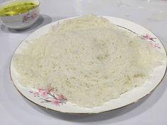 HOME TALENTS: IDIYAPPAM/NOOL PUTTU Rice Flour, Roast, Coconut, Cheese, Food, Essen, Meals, Roasts, Yemek