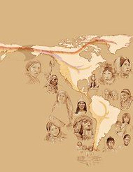 North and South America were first populated by three waves of migrants from Siberia rather than just a single migration, say researchers who have studied the whole genomes of Native Americans in South America and Canada.