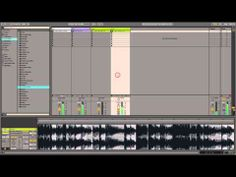 Unique gating effects with Ableton Live's Beats warp mode - YouTube