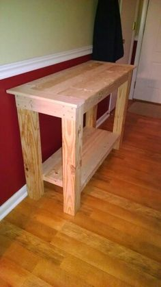 Tv Stand Rough Cut Lumber