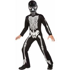 Skeleton Child Halloween Costume - Walmart.com