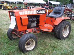Case lawn & garden tractor