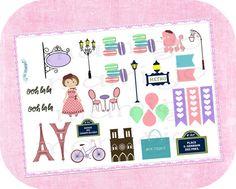 """Stickers a tema """"Parigi"""""""