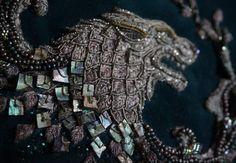 Sansa Stark dress. Game of Thrones Embroidery