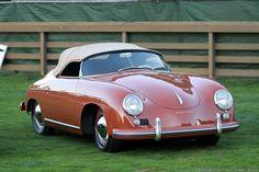 1954 Porsche 356 1500 Speedster.