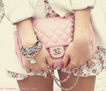 Inspiring picture chanel, designer, fashion, floral, hangbag, jewelry. Resolution: 500x370 px. Find the picture to your taste!