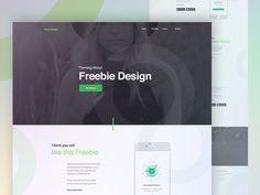 App landing Page design for Free by  Raaz Das    #Design Popular #Dribbble #shots