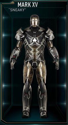 Toutes les armures d'Iron Man - Mark XV