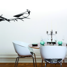 If something is missing in your interior, opt for this Origami branch wall decals full of class, elegance and simplicity!