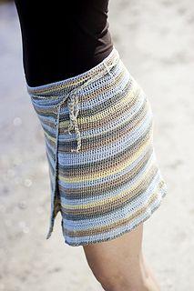 Crochet wrap skirt **I like this, but I would make it longer**