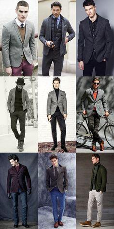 Men's Heavyweight Blazers Lookbook & Outfit Inspiration