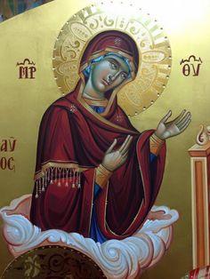 Whispers of an Immortalist: Icons of the Theotokos 1 Byzantine Icons, Holy Mary, Blessed Virgin Mary, Orthodox Icons, Christianity, Catholic, Bible, Princess Zelda, Illustration